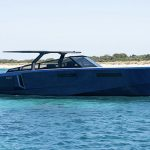 Sail in style on an EVO 43 powerboat